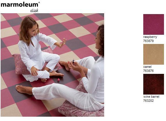 Marmoleum linoleum click tegels v a u ac p m incl btw